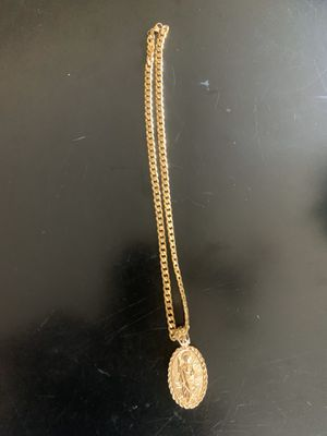 Gold plated chain for Sale in Hartford, CT