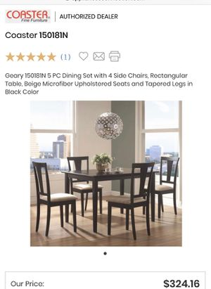 5 piece kitchen table and chairs (set) for Sale in San Rafael, CA