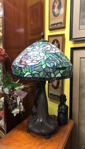 Vintage stained glass lamp for Sale in Tamarac, FL