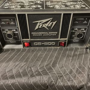 Peavey CS-800 Power Amplifier for Sale in Saratoga, CA