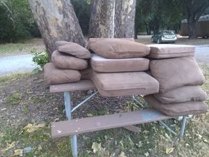 Free sectional couches for Sale in Morgan Hill, CA