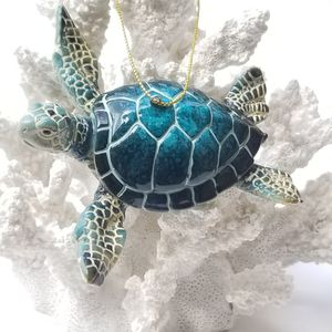 """Brand New! 4 1/4"""" Sea Turtle Ornament - Blue for Sale in Miami, FL"""