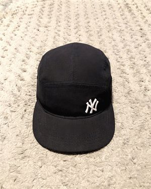 New Era NY Yankees MLB cap paid $38 Brand new! Light Weight Camper 5 Panel Cap in black. Official merchandise cap features the team logo embroidered for Sale in Washington, DC
