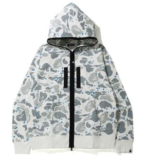 A BATHING Hoodie Jacket APE RELAXED SPACE CAMO FULL ZIP HOODIE White Japan XL for Sale in New York, NY