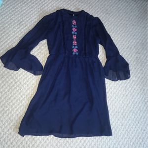 Speechless Juniors 16 Lace Blue Flower Dress for Sale in Emerald Isle, NC