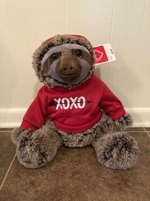 New XOXO Sloth Stuffed Animal for Sale in Smyrna, GA
