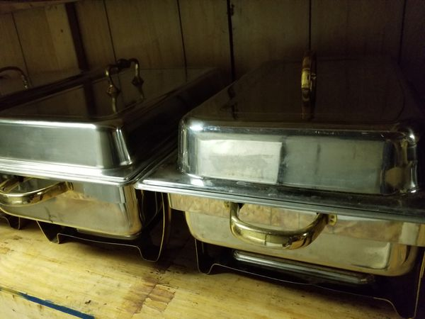 (4) Chafing Dishes