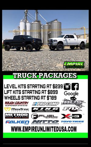 Lift kit package. Payment options for Sale in Corona, CA