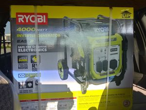 RYOBI PORTABLE GENERATOR for Sale in Brentwood, MO