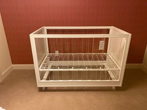Pottery Barn Acrylic Baby Crib for Sale in Scottsdale, AZ