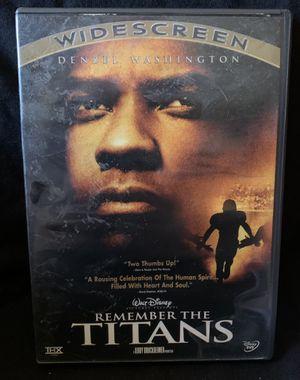 Remember the Titans DVD for Sale in Lexington, SC