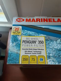 Marineland Penguin 350 75 gallon Power Filter for Sale in Greencastle,  IN