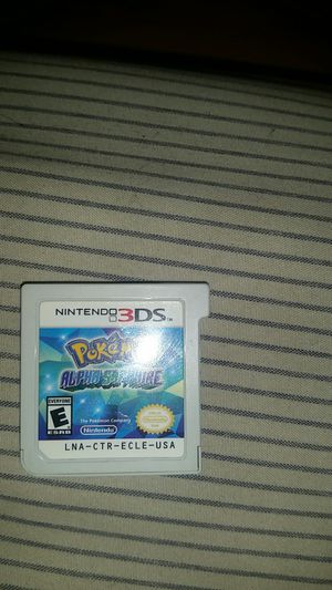 Pokemon Alpha Sapphire for Nintendo 3DS for Sale in Lawndale, CA