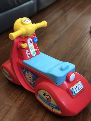 New fisher price ride on car with sound. for Sale in Rancho Cucamonga, CA