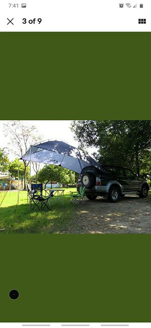 Waterproof, Durable Tear Resistant, Multifunction Uses Auto Camping/SUV, MPV,Trailer Sedan Anti-uv Beach Camping/Auto Traveling Tent Shade Awning for Sale in San Bernardino, CA