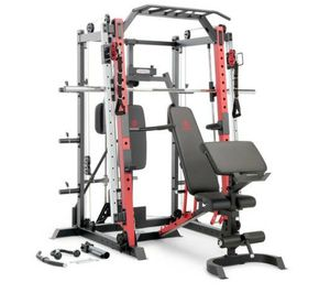 Marcy smith machine/ cage system + pull up bar & landmine station SM 4033 for Sale in South Gate, CA