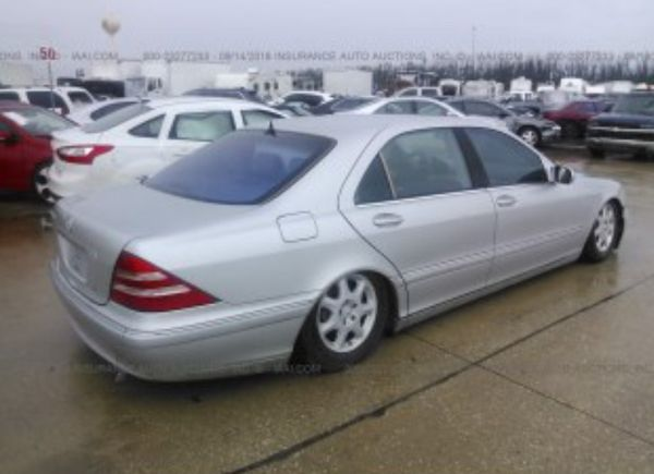 01 Mercedes S 430. For parts only