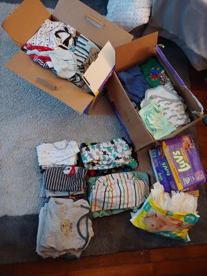 Newborn -9 month baby boy clothes for Sale in Cleveland, OH