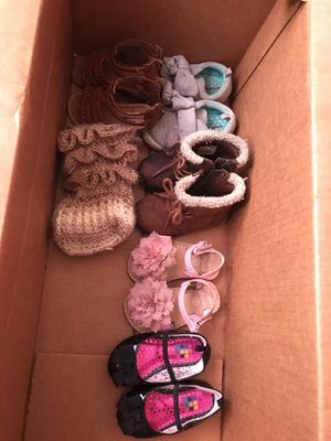 Baby girls shoes sizes 4-5 for Sale in Saint Joseph, MO