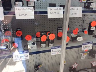 Clearance camera lens for Sale in Kenmore,  WA