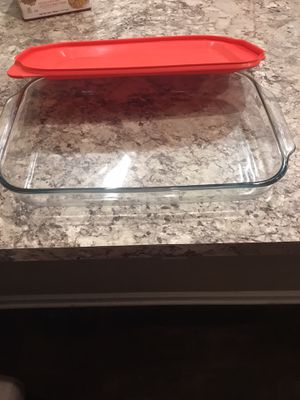 """Pyrex Easy Grab - 4 quart - 16"""" length with lid. for Sale in Dublin, OH"""