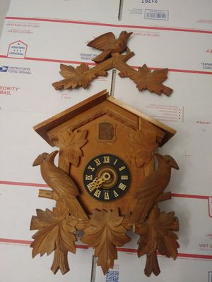 Vintage cuckoo clock for parts , 25 dlls. for Sale in San Diego, CA