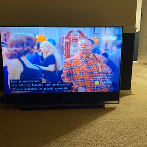 60in Big Back FlatScreen for Sale in Hyattsville, MD