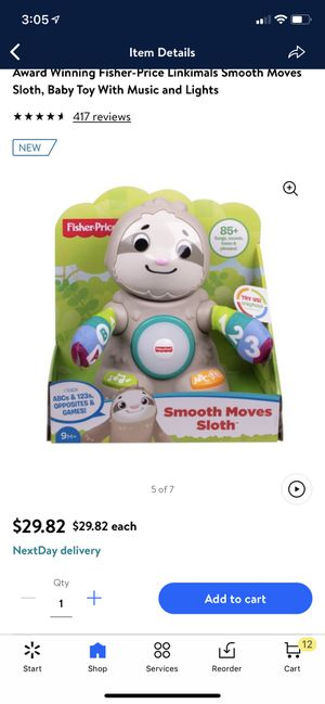 Fisher price sloth for Sale in Phoenix, AZ