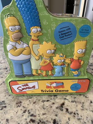 Simpsons Trivia Game for Sale in Garner, NC
