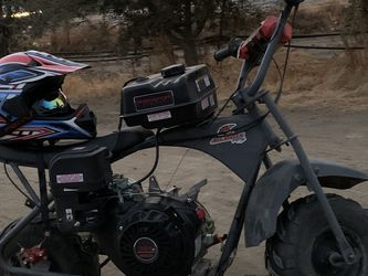 8 hp Minibike commons frame13 hp go cart for Sale in Pixley,  CA