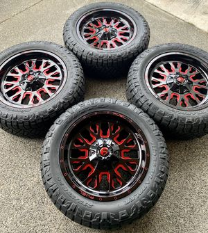 "20"" wheels & tires. 6x5.5 or 6x135 for Sale in Renton, WA"