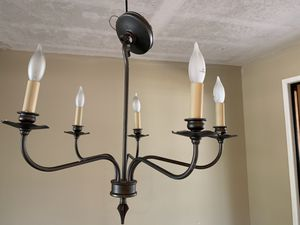 Lot of 2: chandelier light fixtures for Sale in Redmond, WA