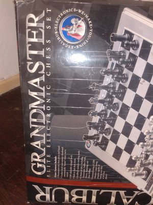 Excalibur Grandmaster electronic chess set for Sale in Detroit, MI