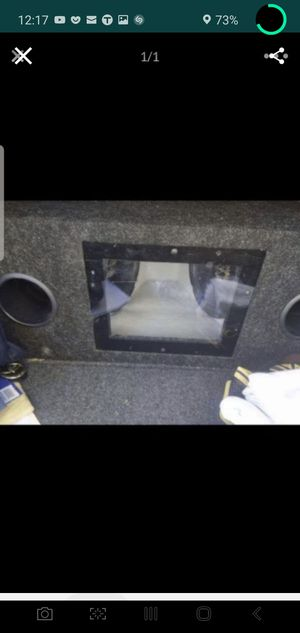 Jbl subwoofers with ported box for Sale in Los Angeles, CA
