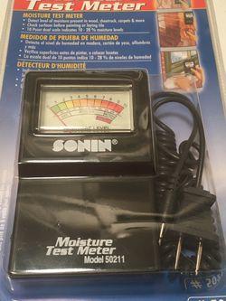 Sonin Moisture Test Meter 50211 for Sale in La Habra,  CA