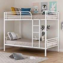 Twin metal bunk with mattresses for Sale in Puyallup, WA