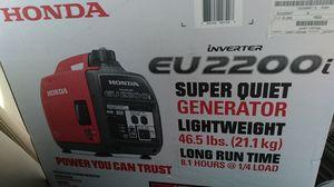 HONDA GENERATOR EU2200i for Sale in Norwalk, CA