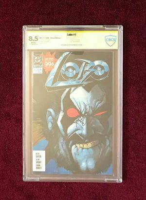 Lobo #1 signed and graded comic book for Sale in Fort Washington, MD