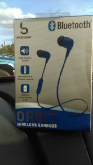 Bass Jazz Orbit Wireless Earbuds for Sale in Alexandria, VA