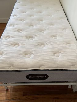 Twin Xl Mattress And Frame Almost New $300 Or Best Offer for Sale in Hopkinton,  MA