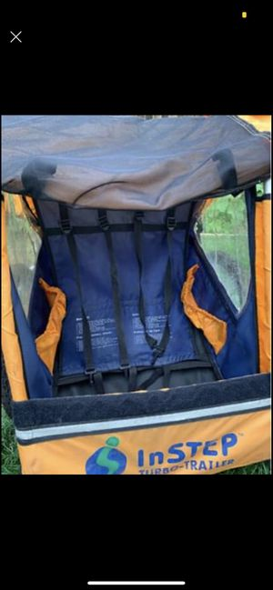 Bike trailer excellent condition for Sale in Denver, CO