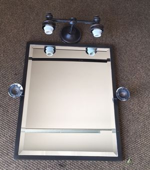 Pottery brand / bathroom wall mirror for Sale in West Palm Beach, FL