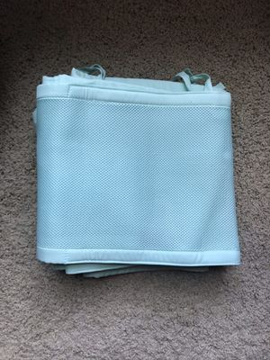 Breathable mesh crib liner for Sale in Bossier City, LA
