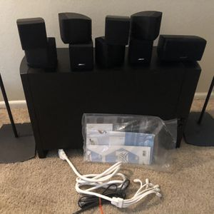 Bose Acustimas 10 ||| Series With Yamaha Receiver 667 With Wifi Connection for Sale in Santa Ana, CA