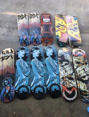 Canadian maple skateboard decks for Sale in Los Angeles, CA