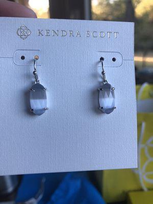 NWT Kendra Scott silver Lemmi in slate grey for Sale in Austin, TX