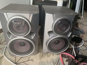 """Sony Surround Speakers, Onkyo Receiver, KTX 10"""" SUB All great sound for Sale in Boulder, CO"""