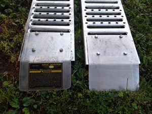 HAUL-MASTER - 1000 Lbs. Capacity 10 In. X 84 In. Steel Loading Ramps for Sale in Menasha, WI