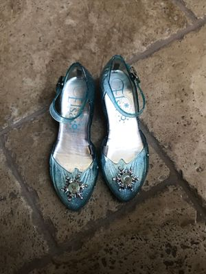 Elsa Light-up Shoes Like New 13/1 size for Sale in Moreno Valley, CA