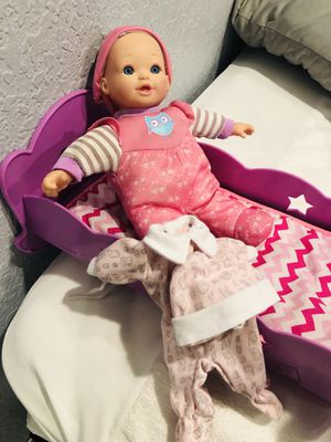 Doll and Crib for Sale in Azusa, CA